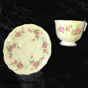 Aynsley England Bone China Cup&Saucer #89